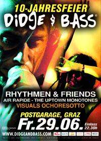 DIDGE & BASS 10-Jahresfeier
