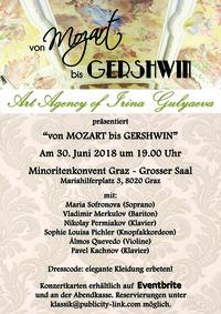 Von Mozart bis Gershwin@Minoritenkonvent Graz - Großer Saal