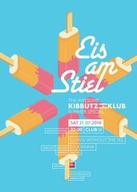 Kibbutz Klub: Eis am Stiel@Club-U