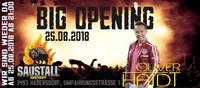 BIG Opening mit Oliver Haidt