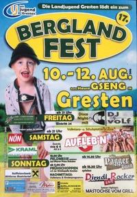 Berglandfest 2018@Festzelt