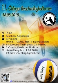 11. Öhlinger Beachvolleyballturnier