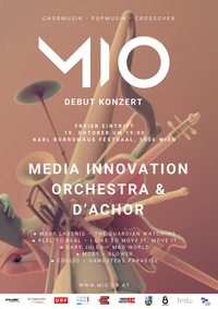 Debut Konzert Media Innovation Orchestra & d´achor