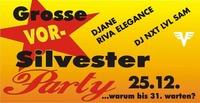 Die Grosse Vorsilvesterparty - warum bis 31. warten?@Eventstage Krems