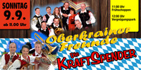 Oberkrainer Freunde & Die Kraftspender@Oktoberfest Hartberg