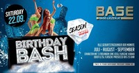 Birthday Bash - New Season@BASE