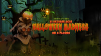 Halloween Madness mit Darktek, Nout Heretik & Yowii auf 3 Floors