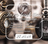 TURN BACK TIME - Maturaball des Wimmer Gymnasiums 2018