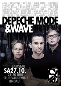 Depeche Mode & Wave!@Club Vaudeville