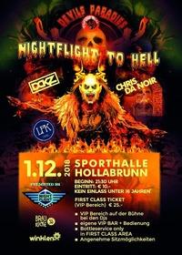 Nightflight to hell@Zentrum