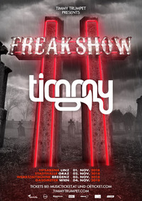 Timmy Trumpet - presented by Electrify und Kronehit@Gasometer - planet.tt