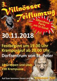 3. Villnösser Teiflumzug@ St. Peter im Vilnöstal