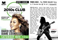 2010s Club & 2 Jahre POWER DISCO ϟ November Rain 2018@The Loft