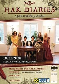 HAK Diaries 5 Jahre Geschichte geschrieben - Maturaball der HAK Gmunden
