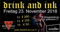 Drink and ink@Tanzstadl Arabia