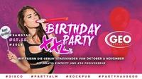 Birthday Party XXL@GEO