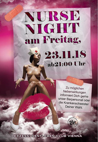 Nurse Night@Exzess! Gentlemen-Club Vienna