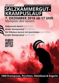 Salzkammergut Krampuslauf@Ortszentrum