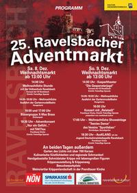 25. Ravelsbacher Adventmarkt Tag 2@Kulturzentrum Ravelsbach