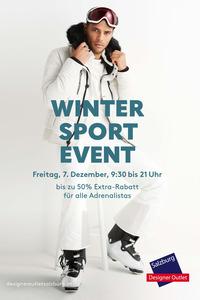Auf die Piste, fertig, los! Das McArthurGlen Designer Outlet Salzburg feiert erstes Wintersport Event am 7. Dezember@Designer Outlet Salzburg
