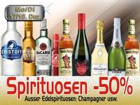 Spirituosen -50%@Mausefalle