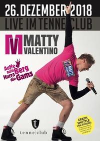 Matty Valentino Live@Tenne Club Ratschings