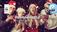 Membercard Weihnachtsfeier