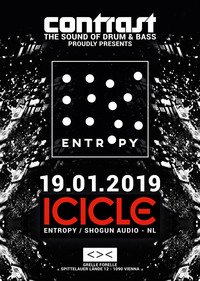 CONTRAST presents ICICLE (Entropy / Shogun Audio - NL)