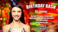 Birthday Basch mit Party DJ Chris Soronto@Sugarfree