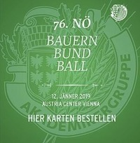76. NÖ Bauernbundball@Austria Center Vienna
