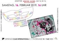 Verschiedene Facetten der Verwandlung in Literatur und Kunst! @Cafe Club International C.I.