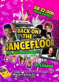 Back on the Dancefloor (90s & 80s Party)@Weberknecht