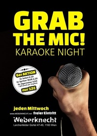 GRAB the MIC! Karaoke Night