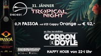 Tropical Night | Gordon & Doyle@Discothek Concorde