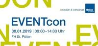 EVENTcon - Wie du deine Veranstaltung mit digitalen Hilfsmitteln aufpeppst@FH St. Pölten