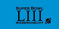 SUPER BOWL LIII@Weberknecht