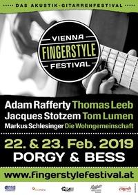 Vienna Fingerstyle Festival 2019@Porgy & Bess