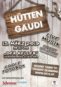 Hütten GAUDI@Der Keller