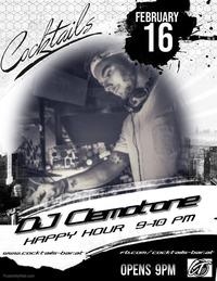 DJ Clemotone@Cocktails