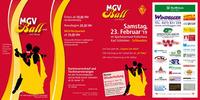 MGV Ball 2019 @ Kulturhaus Schlanders@Kulturhaus Schlanders