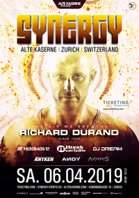 SYNERGY invites Richard Durand