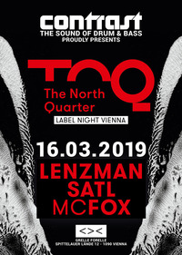CONTRAST presents THE NORTH QUARTER - Label Night@GRELLE FORELLE