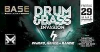 DnB Invasion w/ IHR aka Inward, Hanzo & Randie (IT)@BASE