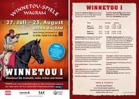 Winnetou-Spiele Wagram - Winnetou I mit Tag der offenen Tür ab 11:30 Uhr@Arena Wagram
