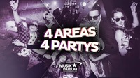4 Areas – 4 Parties!@Musikpark-A1