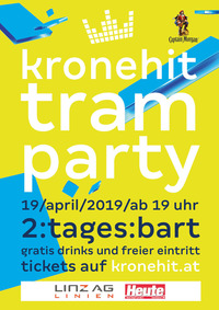 kronehit tram party 2019@Taubenmarkt