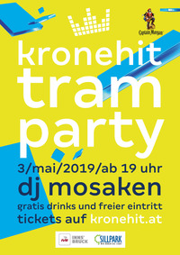 kronehit tram party 2019