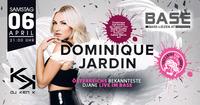 Dominique Jardin LIVE@BASE