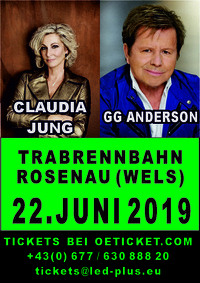 GG ANDERSON & CLAUDIA JUNG@Trabrennbahn Wels
