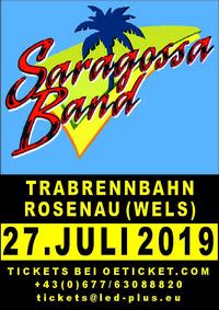SARAGOSSA BAND    L  I  V  E@Trabrennbahn Wels